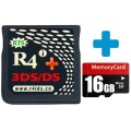 R4i Gold 3DS Plus And 16GB MicroSD Card
