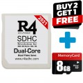 R4 3DS Dual Core with 8gb micro SD