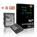 R4 MicroSD 4GB Card Combo