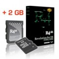 R4 SDHC Card Plus 2 GB MicroSD Card