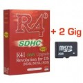 R4i Card And 2Gig MicroSD