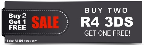 R4 3DS Buy 2 Get 1 Free