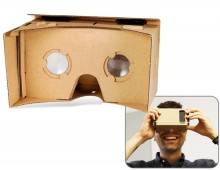 "5.0"" Cardboard Google Glass DIY 3D Glasses"