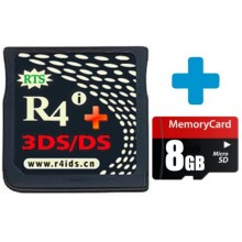R4i Gold 3DS Plus 8GB MicroSD